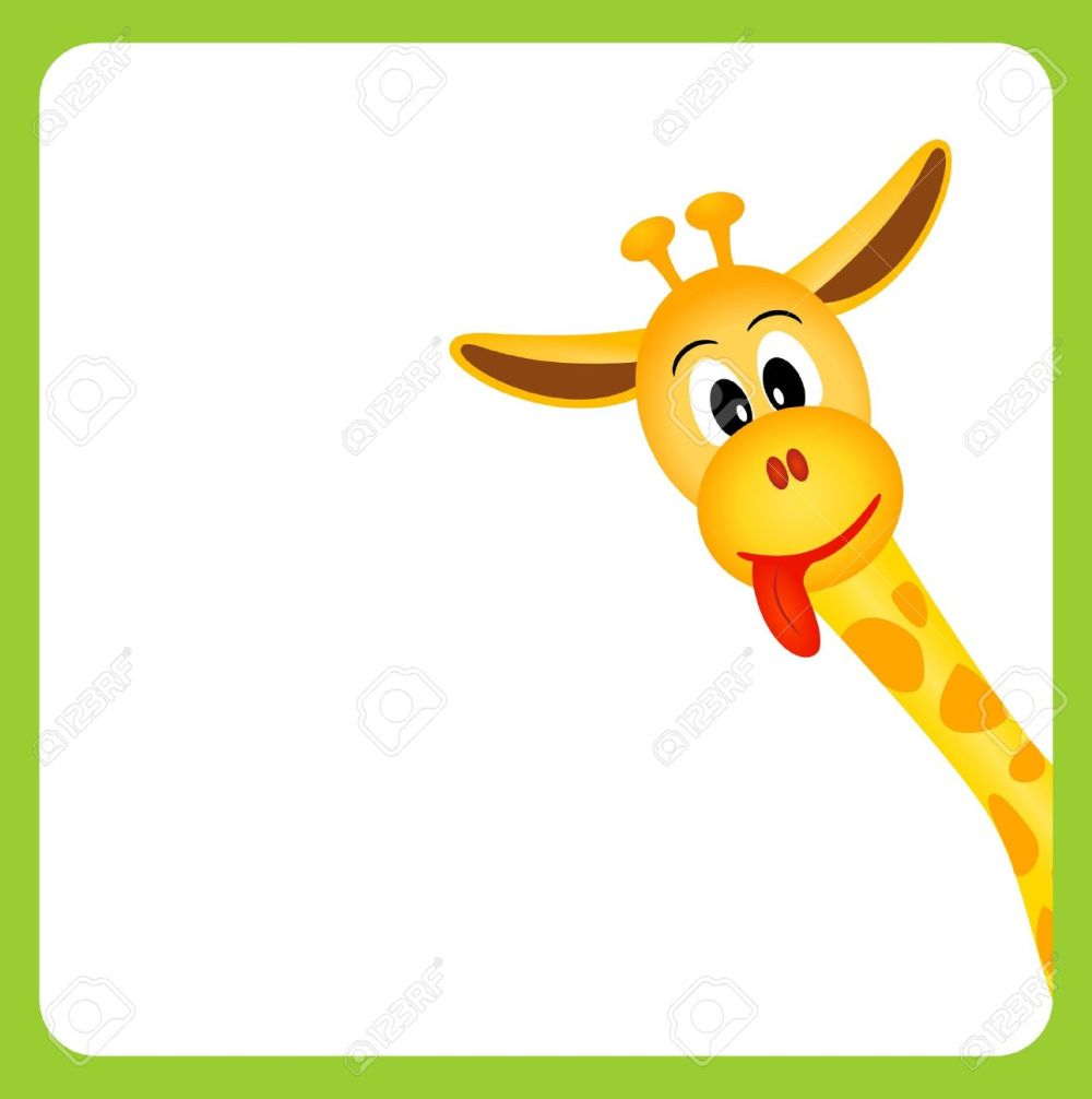 medium resolution of 1291x1300 long tongue giraffe clipart explore pictures