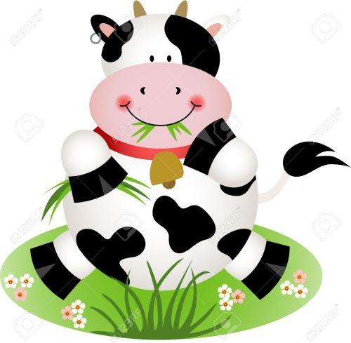 small resolution of 1300x1273 cow eating grass clipart clip art library
