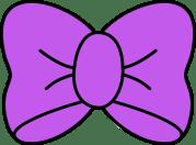 hair bow clipart