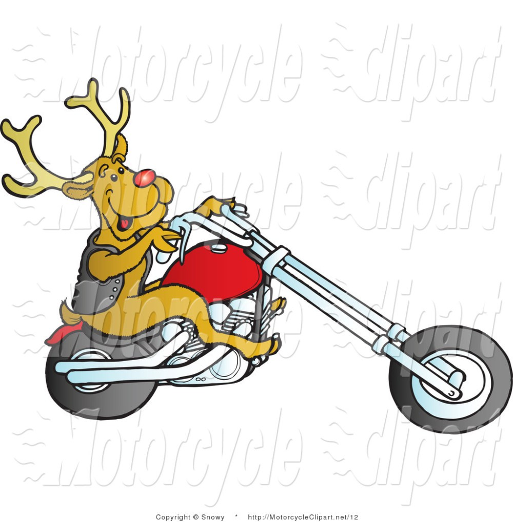 medium resolution of 1024x1044 biker clipart christmas