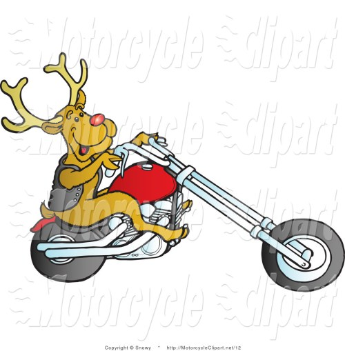 small resolution of 1024x1044 biker clipart christmas