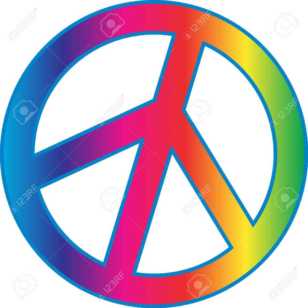 medium resolution of 1300x1300 peace sign clipart tye dye
