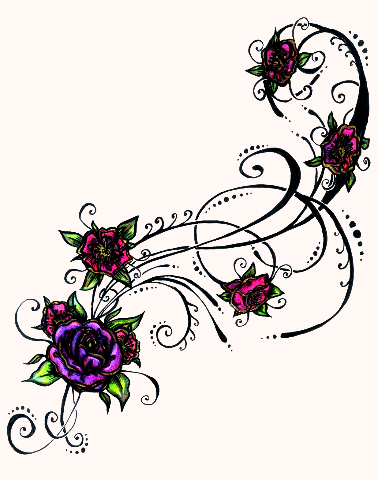 hight resolution of heart tattoo clipart