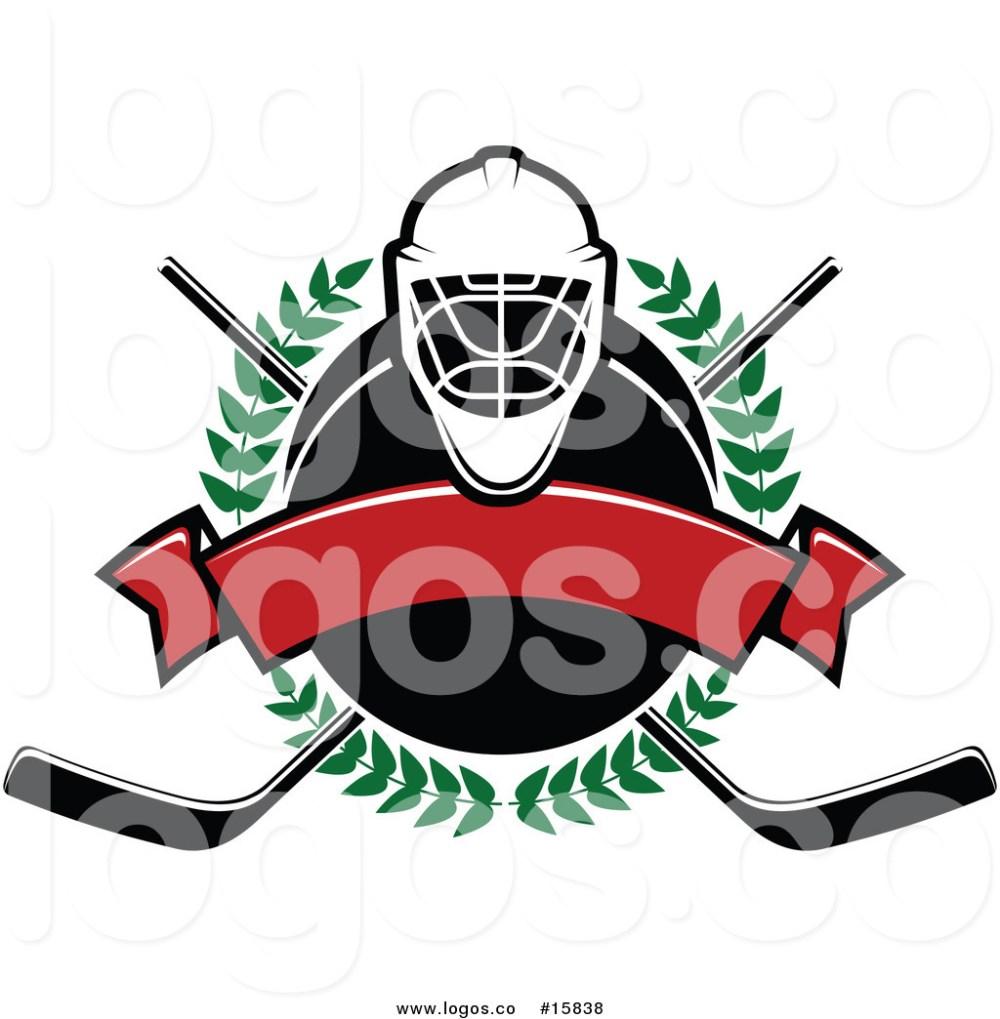 medium resolution of 1024x1044 royalty free vector logo of a ice hockey laurel wreath banner