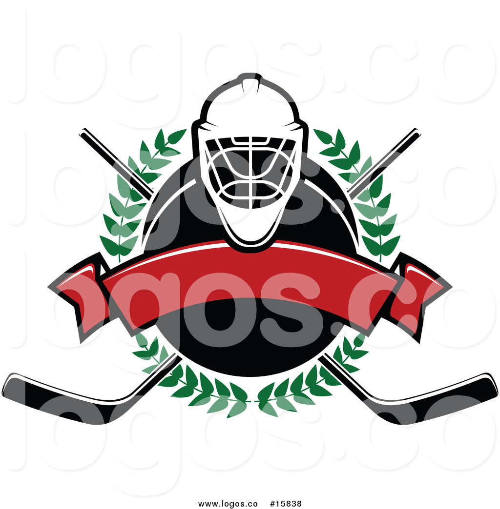 hight resolution of 1024x1044 royalty free vector logo of a ice hockey laurel wreath banner