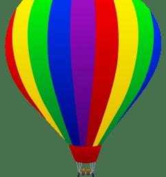 4114x5559 free clip art of a fun rainbow striped hot air balloon sweet [ 4114 x 5559 Pixel ]