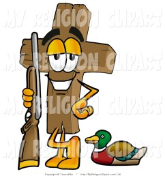 1024x1044 religion clip art of a sporty wooden cross mascot cartoon [ 1024 x 1044 Pixel ]