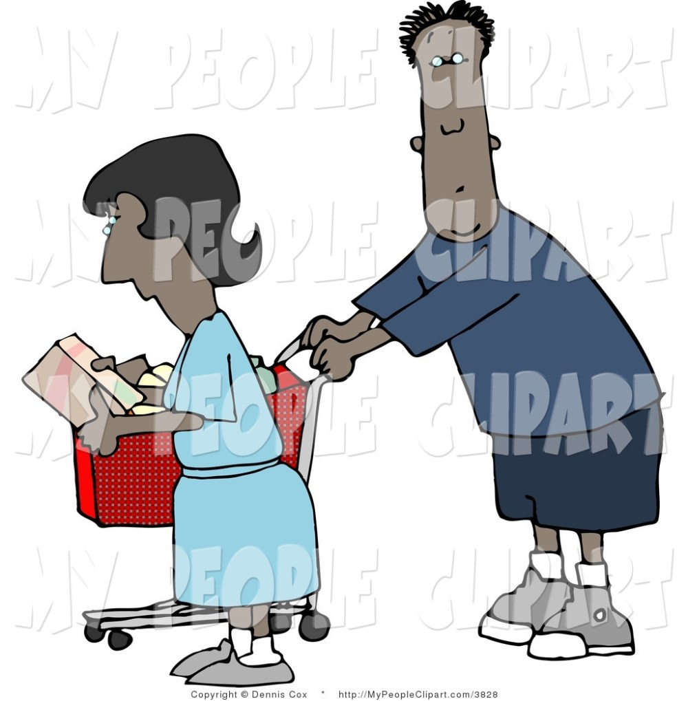 medium resolution of 1024x1044 people shopping clipart
