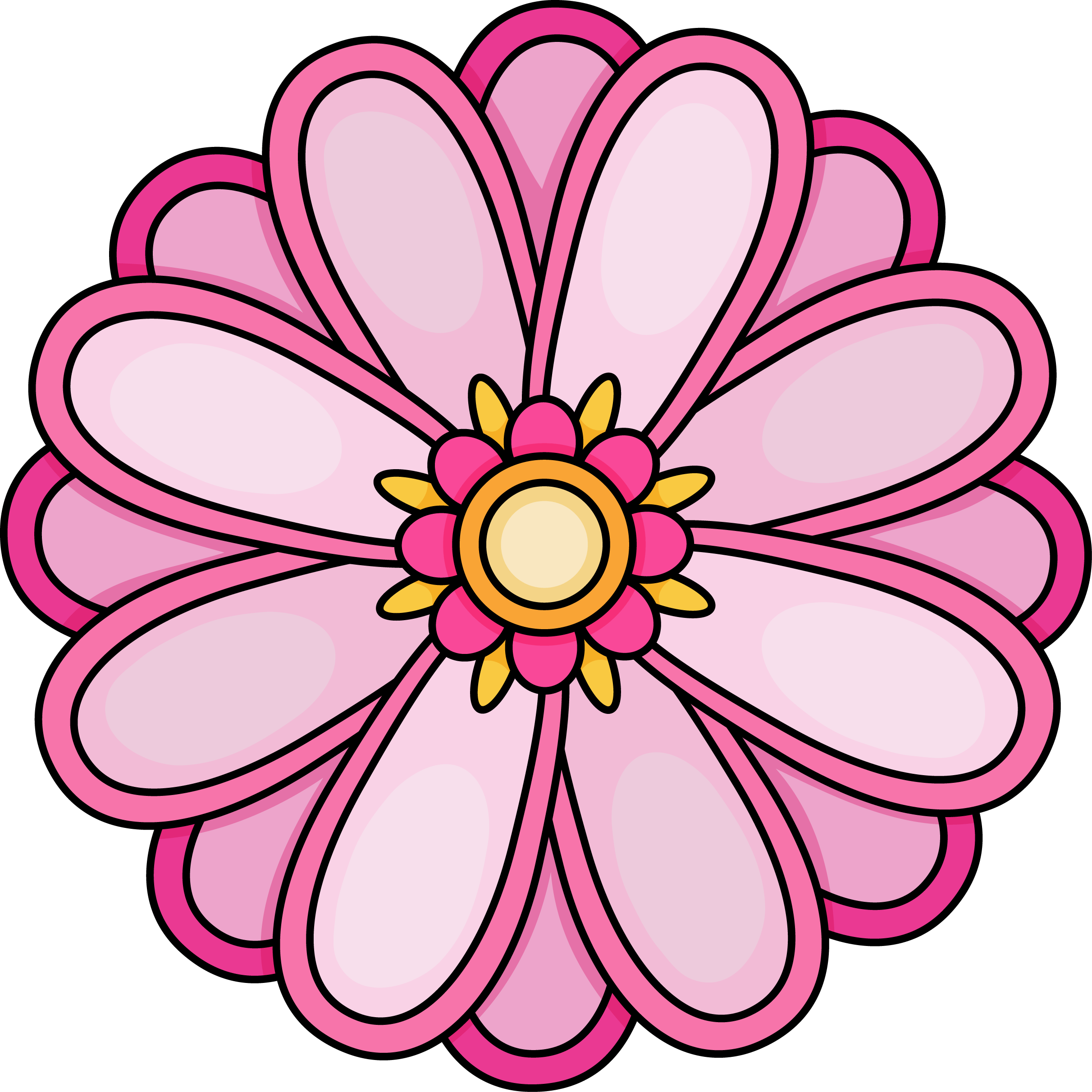 Images Of Flowers Colouring Pages At Getdrawings