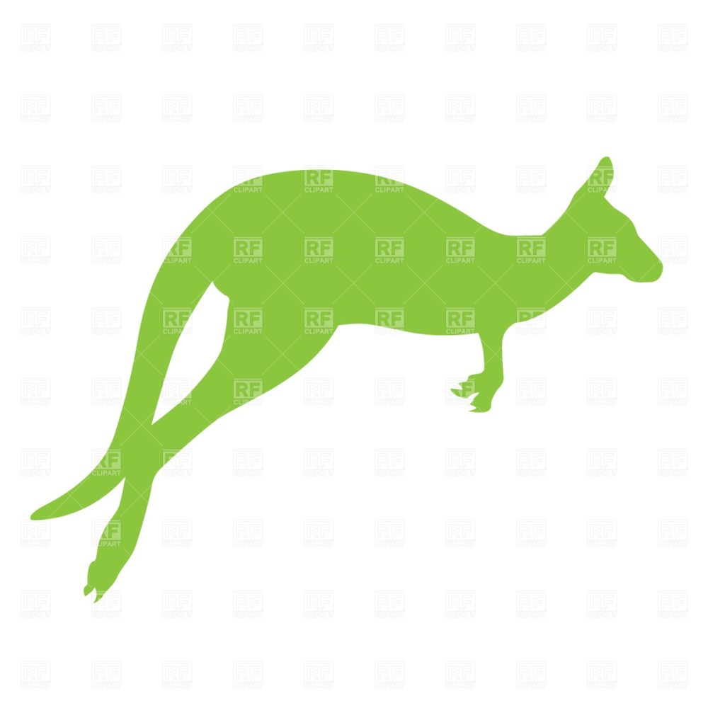 medium resolution of 1200x1200 kangaroo silhouette free download vector clip art image