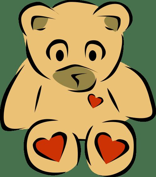 small resolution of 3333x3784 clip art bear heart 2 christmas xmas teddy bear clipart