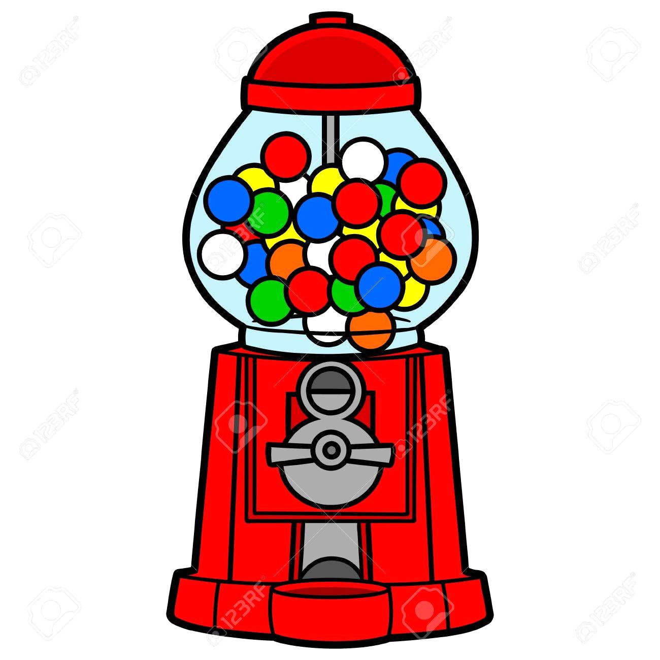 hight resolution of 1300x1300 gumball machine royalty free cliparts vectors and stock stunning