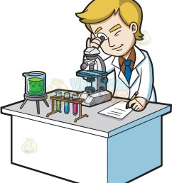 864x1024 a scientist looking under a microscope cartoon clipart vector toons [ 864 x 1024 Pixel ]