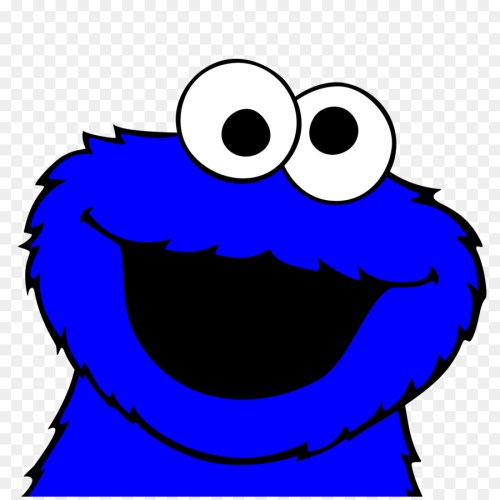 small resolution of 900x900 cookie monster chocolate chip cookie biscuits clip art