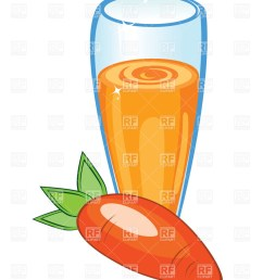 848x1200 glass of carrot juice royalty free vector clip art image [ 848 x 1200 Pixel ]
