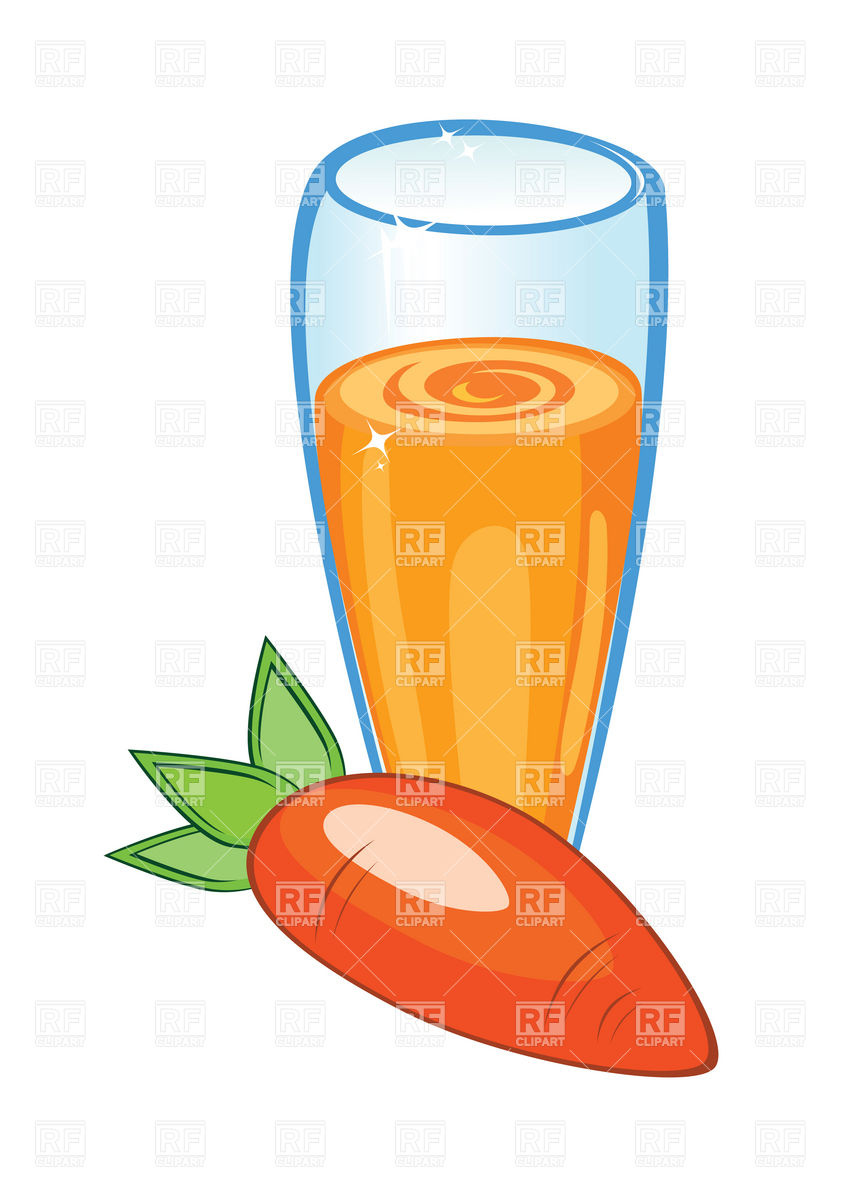 hight resolution of 848x1200 glass of carrot juice royalty free vector clip art image