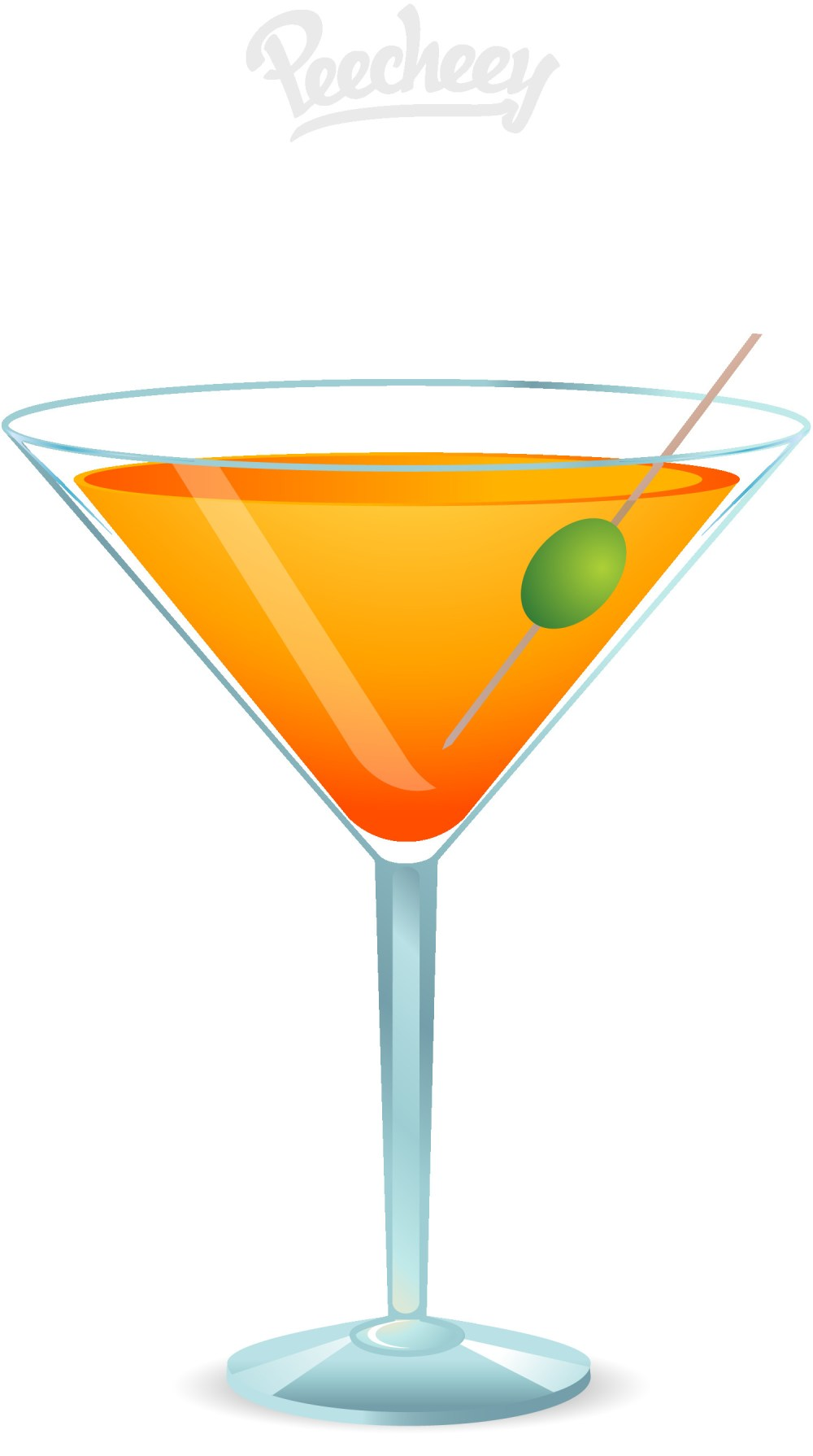 medium resolution of 1500x2685 cocktail clipart free