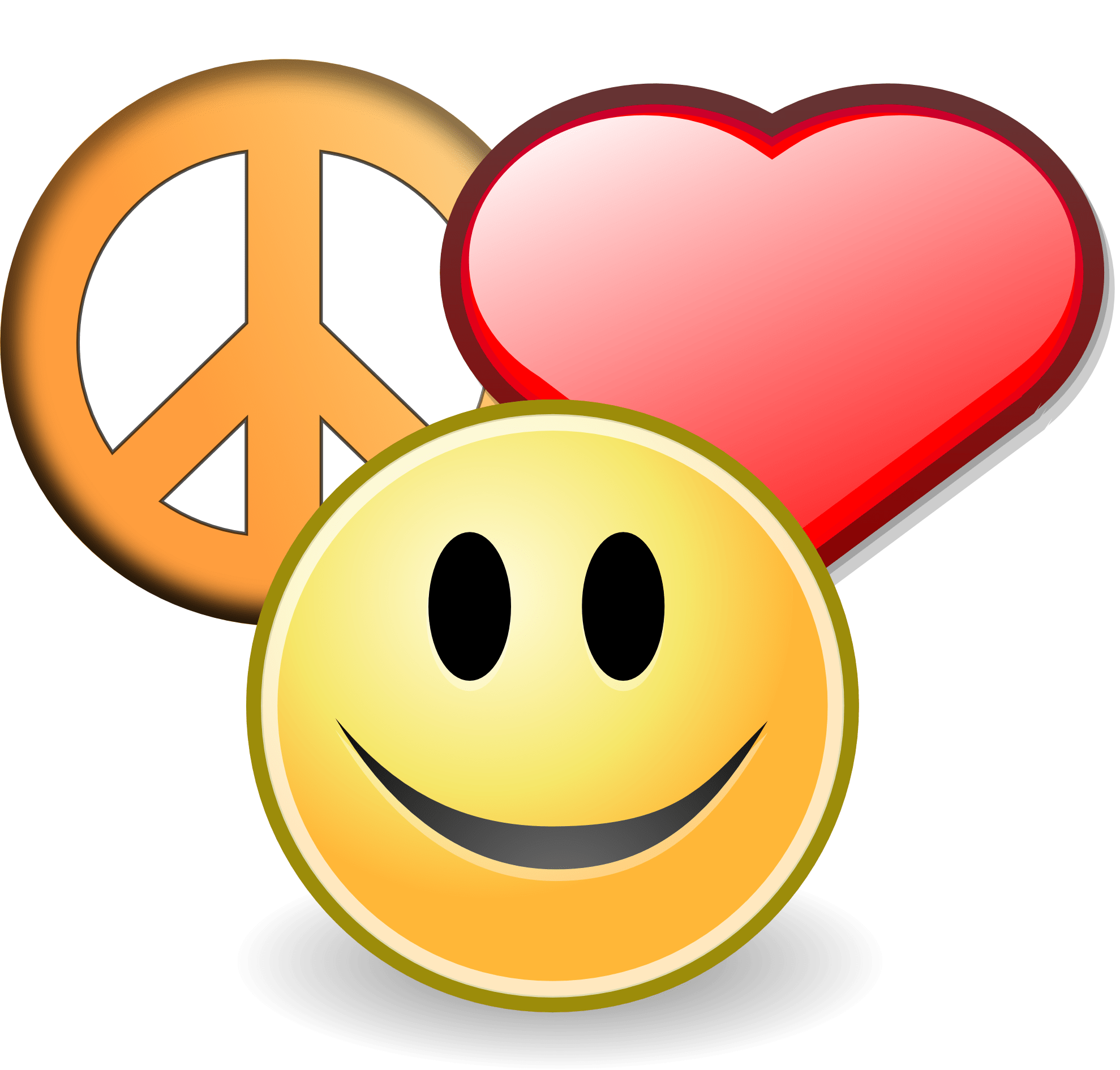 hight resolution of peace sign clipart