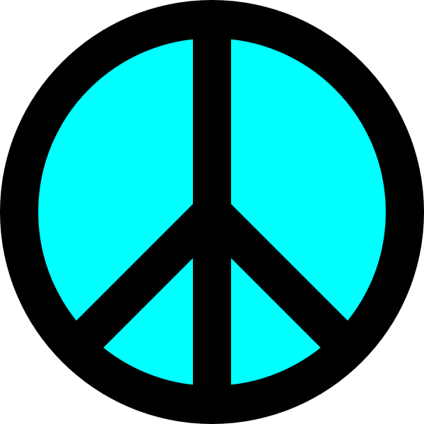 peace symbol clipart at