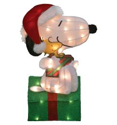 1500x1500 christmas peanuts snoopy and woodstock pre [ 1500 x 1500 Pixel ]