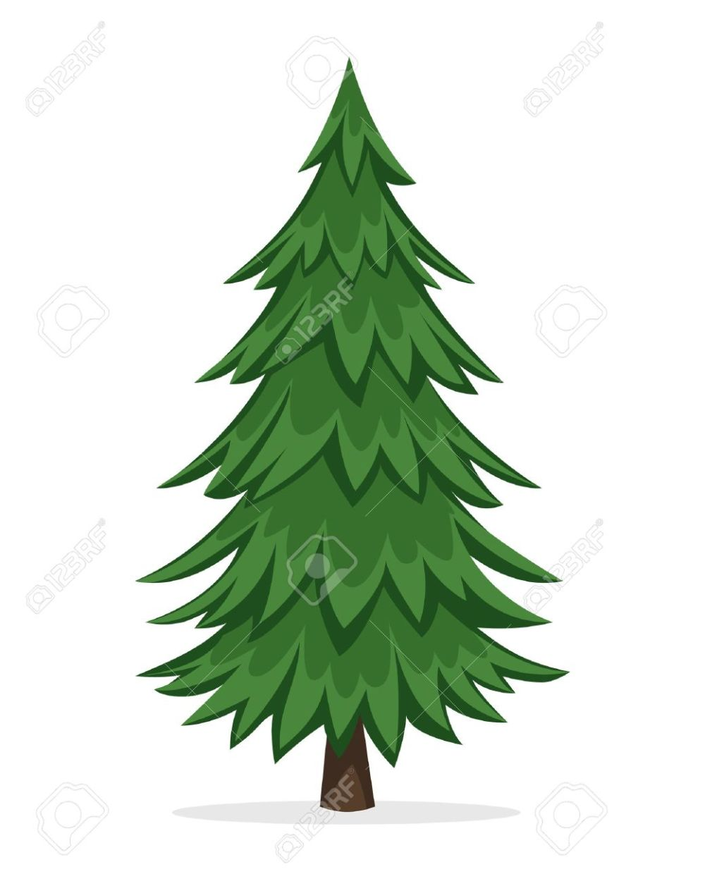medium resolution of 1040x1300 cartoon pine trees free download clip art