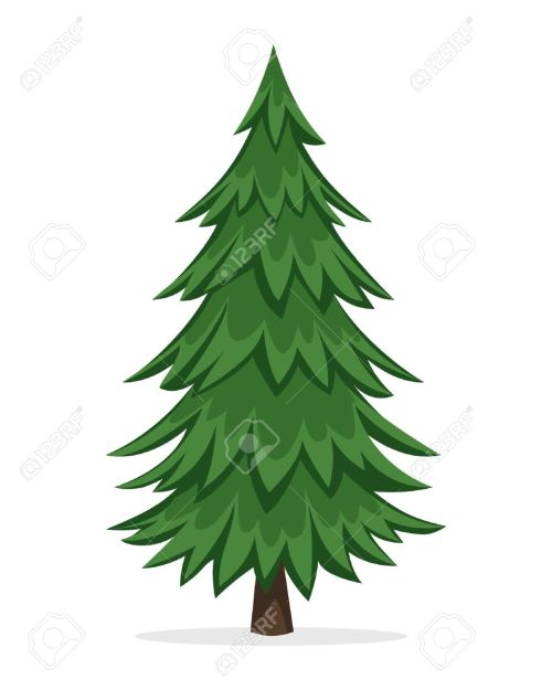 small resolution of 1040x1300 cartoon pine trees free download clip art