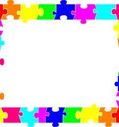 2249x1733 autism puzzle piece border clip art ideias autism [ 2249 x 1733 Pixel ]