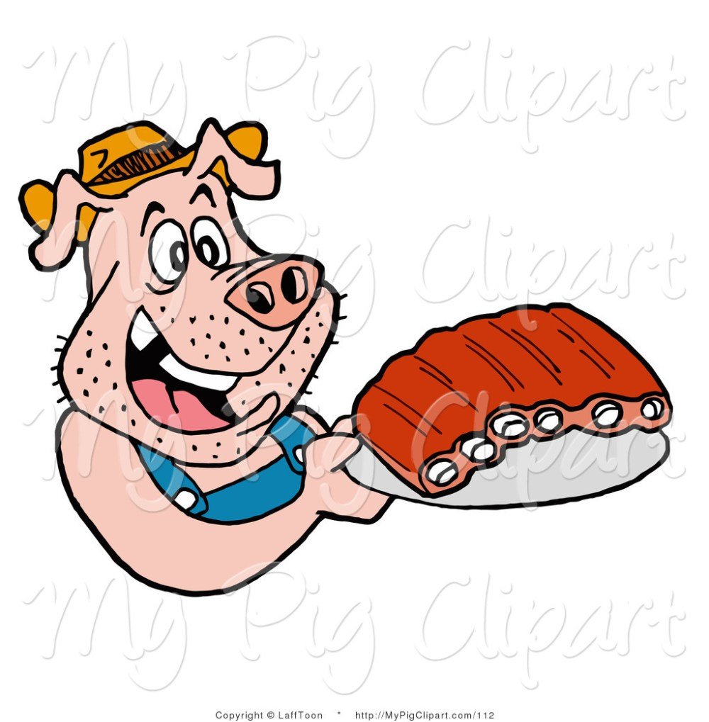 medium resolution of 1024x1044 pig in overalls clipart