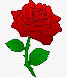 rose flower clipart clip getdrawings