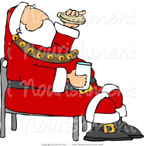 small resolution of 1024x1044 chocolate santa claus clipart