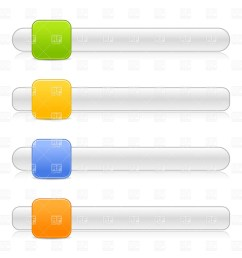 1200x1200 scroll box or slider template with square button royalty free [ 1200 x 1200 Pixel ]