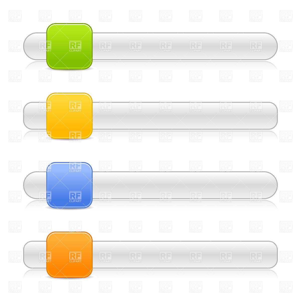 hight resolution of 1200x1200 scroll box or slider template with square button royalty free