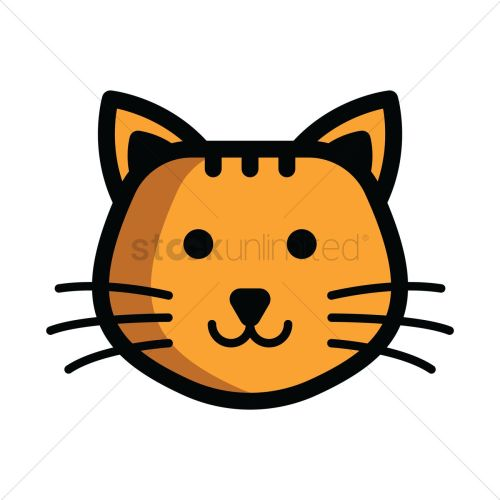 small resolution of 1300x1300 cat s head clipart gray clip art image