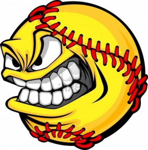 small resolution of 1024x1037 angry softball clipart