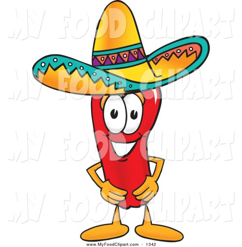 small resolution of 1024x1044 food clip art of a mexican chili pepper mascot cartoon character