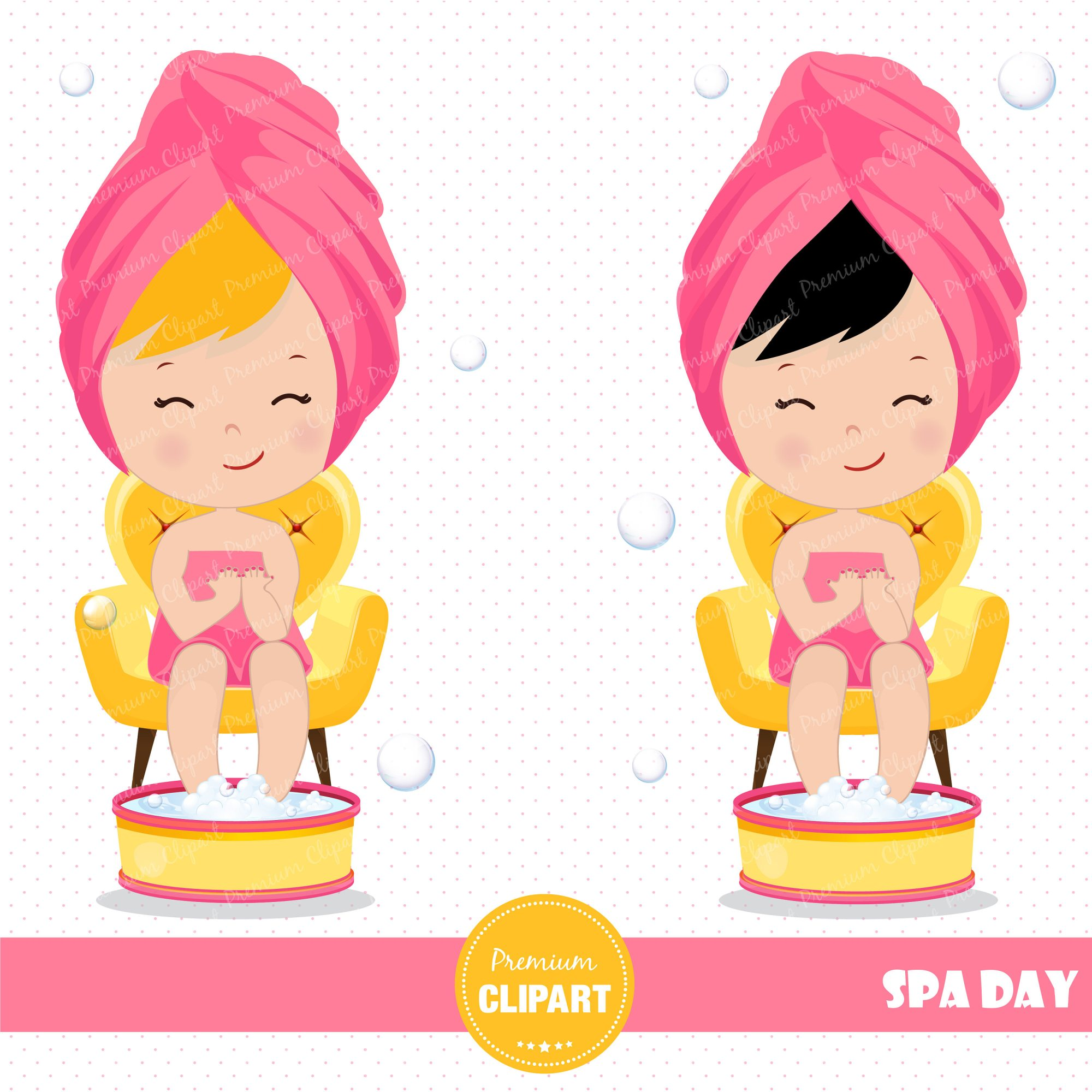 hight resolution of 3000x3000 spa girl clipart spa party spa clipart girl clipart spa girl
