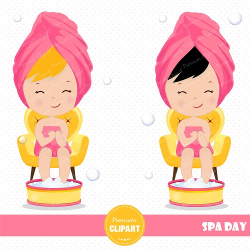 small resolution of 3000x3000 spa girl clipart spa party spa clipart girl clipart spa girl