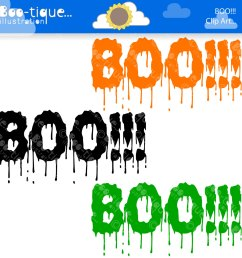 1500x1500 halloween clipart halloween clip art for instant download boo [ 1500 x 1500 Pixel ]