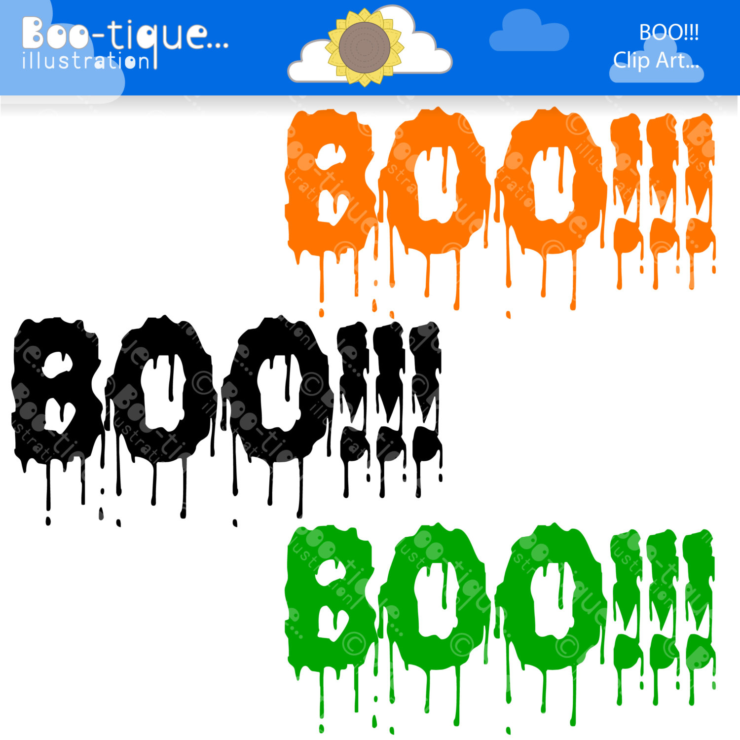 hight resolution of 1500x1500 halloween clipart halloween clip art for instant download boo