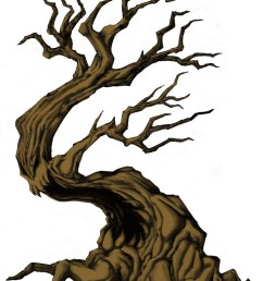 1600x2200 creepy tree drawing spooky clipart branch [ 1600 x 2200 Pixel ]