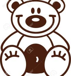 1119x1300 astonishing outline of a teddy bear clipart pa [ 1119 x 1300 Pixel ]