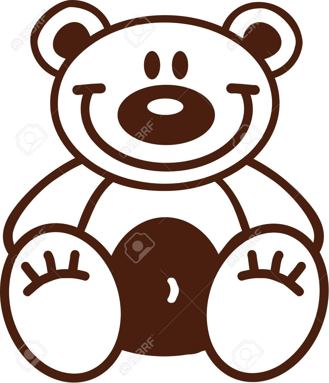 hight resolution of 1119x1300 astonishing outline of a teddy bear clipart pa