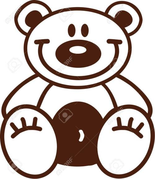 small resolution of 1119x1300 astonishing outline of a teddy bear clipart pa