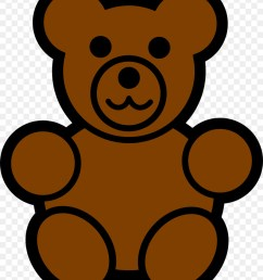 900x1100 baby polar bear teddy bear american black bear clip art [ 900 x 1100 Pixel ]
