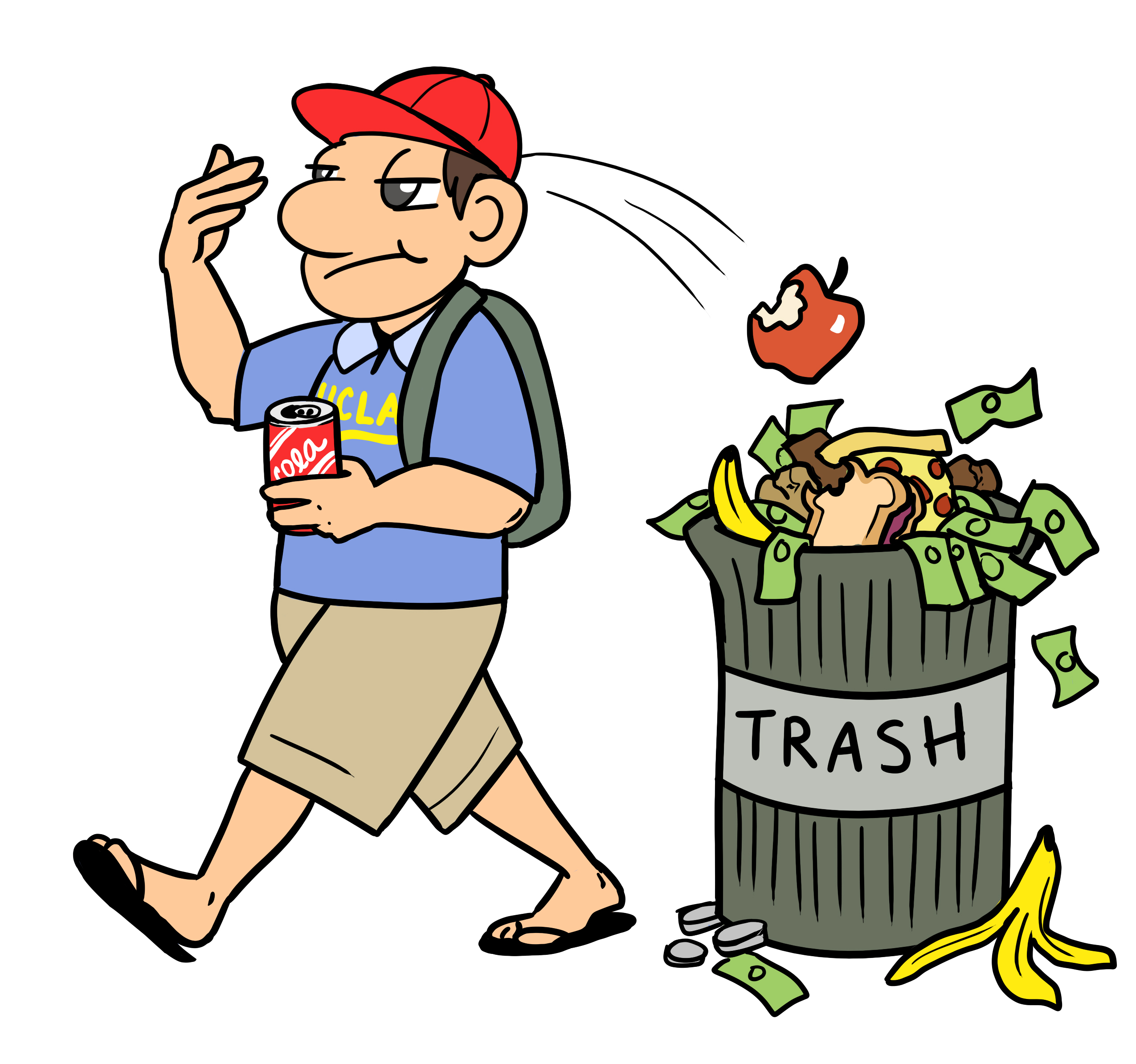 Trash Can Clipart At Getdrawings