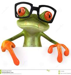1300x1252 frog with glasses clipart [ 1300 x 1252 Pixel ]