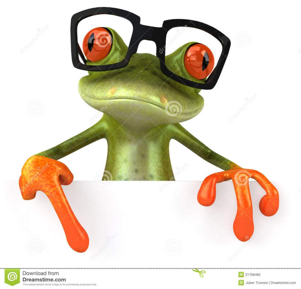 medium resolution of 1300x1252 frog with glasses clipart