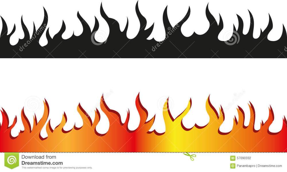 medium resolution of 1300x779 flame clipart border free collection download and share flame