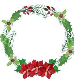 1800x1800 watercolor wreath clipart poinsettia wreath christmas wreath [ 1800 x 1800 Pixel ]