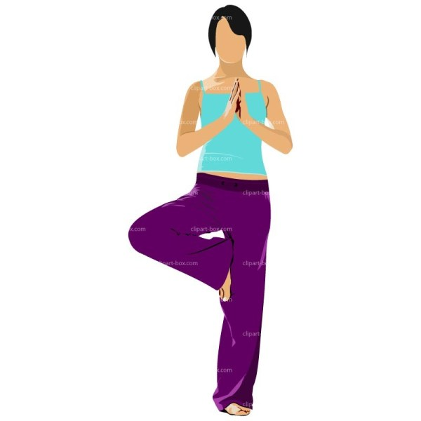 Yoga Poses Clipart Free Personal